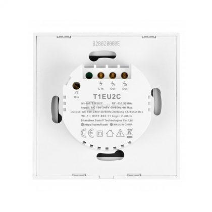 کلید-دو-پل-هوشمند-لمسی-sonoff-t1-با-قابلیت-کنترل-از-طریق-wifi-و-ریموت-433