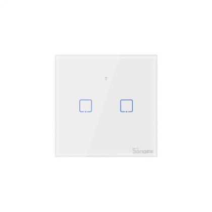 کلید-دو-پل-هوشمند-لمسی-sonoff-t1-wifi