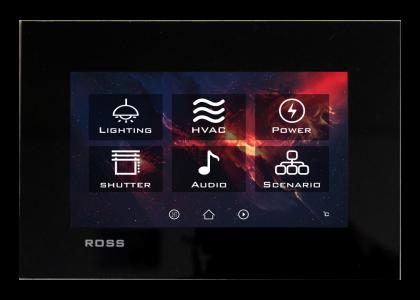 تاچ پنل مشگی سیستم هوشمند Ross