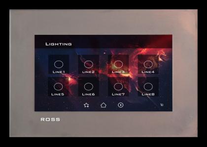 تاچ پنل کروم سیستم هوشمند Ross
